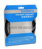 Shimano Mountain Bike MTB Gear Cable Set - Black