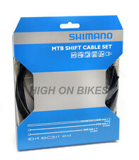 Shimano Mountain Bike MTB Gear Cable Set - Black