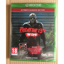 Friday the 13th The Game Ultimate Slasher Edition (Xbox One) New and Sealed
