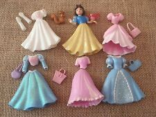 Polly Pocket Disney Princess Lot Snow White Outfits Accessories Set S61