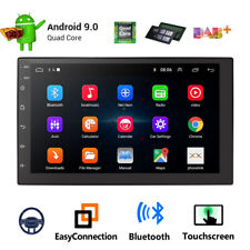 "7""Android 9.0 Quad-Core 2Din Car GPS Nav Stereo Radio Wifi 3G 4G Mirror Link OBD"