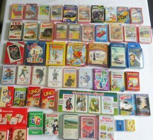 Sammlung Quartett Uno Memo Astro Tarot u.s.w. 55 Spiele