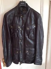 Fantastic Belstaff Panther Jacket in Antique Black