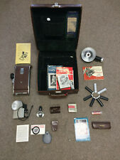 Vintage Polaroid Land Camera Model #110A with loads of Accessories