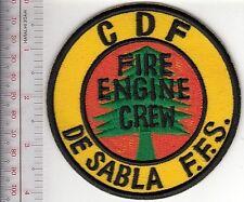 Hot Shot Wildland Fire Crew California CDF De Sabla Forest Fire Station Engine