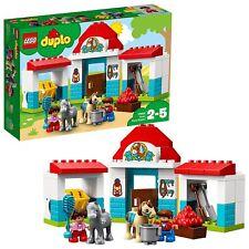 LEGO UK - 10868 DUPLO Farm Pony Stable Toddler Toy NEW & FAST