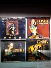 TOMP RAIDER 1 bis 4 5 CD ROM für PC