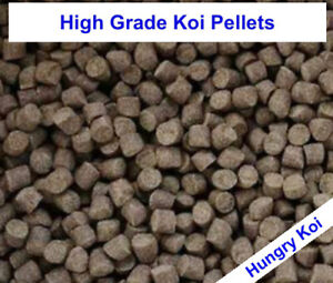 PREMIUM QUALITY - 4 & 6mm HIGH PROTEIN WINTER KOI POND PELLETS *SPECIAL OFFER*