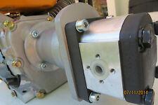 Benzinmotor - Pumpenträger   , Hydraulikpumpe ,Umbausatz für E4 -200 / 19,05/ 63