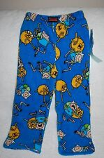 New Cartoon Network Adventure Time Boys Lounge Pants Size 4/Boys Pajama Pants 4