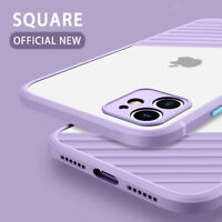 For iPhone 12 11 Pro Max mini XR XS 8 7 ShockProof Hybrid Hard Clear Case Cover