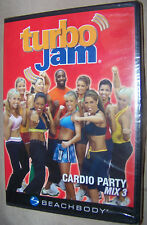 NEW SEALED Turbo Jam: Cardio Party - Mix 3 (DVD, 2007) Beachbody Fat Burning