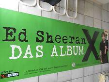 ED SHEERAN   orig.Concert -Tour Poster 236 x 84 cm, RIESENPOSTER