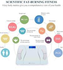 Digital Body Fat Scale Personal Body Weight Bathroom Scales w/ BODY analyzer