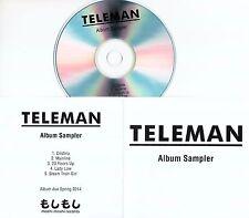 TELEMAN Breakfast Album Sampler 2014 UK numbered 5-trk promo test CD