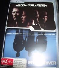 Million Dollar baby / Mystic River (Australia Region 4) DVD – Like New
