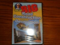 KIDS LOVE BIG ROAD CONSTRUCTION AND DEMOLITION DVD NEW SEALED 60 MINUTES