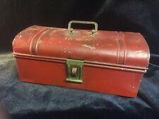 Vintage Dutch Koek Cake Tin Lunch Box Advertising Box Enamel Biscuit