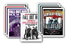 FALL OUT BOY - 10 promotional posters  collectable postcard set # 2