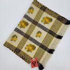"Vtg New Cepelia Tapestry Wool Runner 62""X 22"" Yellow Floral Handmade Deadstock"