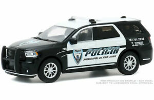 Greenlight 1/64 Municipal de San Juan Puerto Rico Police '18 Dodge Durango 30197