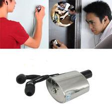 Spy Audio voice Listening ear Wall/Door Contact Microphone bug Amplifier Device