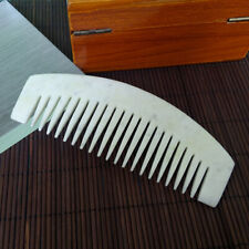 Chinese Hand-carved Natural  Jade comb