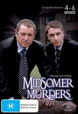 Midsomer Murders : Season 4-6 (DVD, 2008, 9-Disc Set)