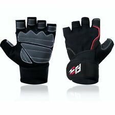 Hefang Fitness Fit Jab Women's Weightlifting Gloves Black Size Large (K3)