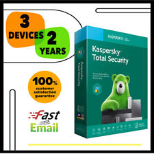 Kaspersky Total Security Antivirus 2020 - 3 Device PC 2 YEAR - GLOBAL KEY