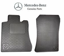 NEW Mercedes Benz SL-Class R129 BLACK All Season Floor Mats Genuine BQ6680349
