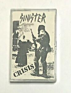 Sinister (USA - PA) Crisis Demo Cassette 1989 Thrash Metal