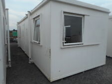 32' x 10' anti vandal office container portable building dual office coversion
