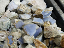 Malawi Blue Chalcedony. Beautiful Lapidary rough. 1+ pound lot.