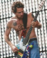 FLEA AUTOGRAPHED SIGNED RED HOT CHILI PEPPERS BAS COA 8X10 PHOTO