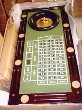 Spieltisch Pokertisch 5teilig Roulette/Poker/Würfel/Blackjack/Theke Breite135cm