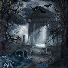 Halloween 10'x10'  Computer-painted Season Scenic background backdrop SN533B881