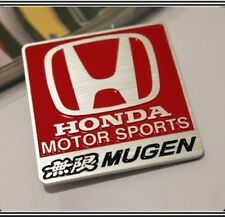 MUGEN badge métal Emblème Autocollant Logo Sport automobile Civic Integra JDM TYPE R S 15