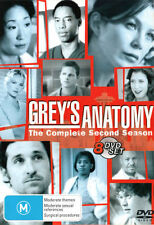Grey's Anatomy: Season 2  - DVD - NEW Region 4