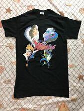 Disney Store Villains T-Shirt Maleficent, Evil Queen, Ursula Womens TEE 2XL XXL