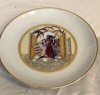 Grimaldi De Monaco Porcelaine Plate Erich Rozewicz Design