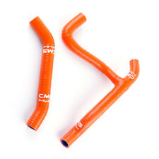 2007-11 Polaris Outlaw 450 MXR / 525 IRS 525S Silicone Radiator Hose Kit Orange