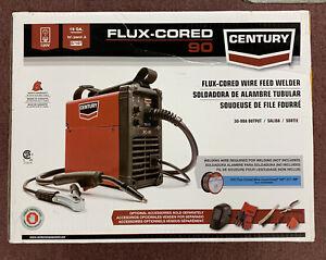 Century Flux-Corded 90 Wire Feed Welder NEW