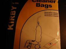 KIRBY VACUUM BAGS GENERATION 4  5  6  ( Pack of 5 ) BAG137