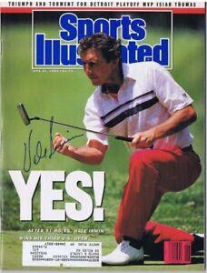 HALE IRWIN SIGNED SPORTS ILLUSTRATED S.I. - 1980 U.S. Open