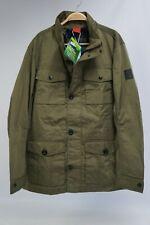 Tom Tailor Herren Herbst Parka Wind Jacke Field Jacket 2in1 oliv grün Gr. L #S02
