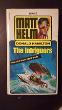 """Donald Hamilton, """"Intriguers,"""" 1973, FGold Medal M2659, VG, 1st"""