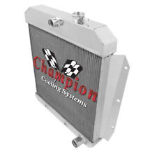 1955 56 57 58 59 Chevy Pickup Truck Champion 4 Row Aluminum Radiator Mc5559 (Fits: Truck)