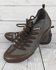 Tsubo Mens Driving Moc Lace Up Shoes 8 Brown EUC