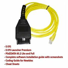 2M Ethernet to OBD Interface Cable E-SYS ICOM Coding F-series For BMW ENET AIWR